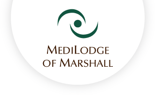 Medilodge of marshall web logo